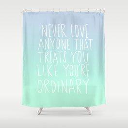 Oscar Wilde: Ordinary Shower Curtain