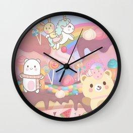 Sweet Story Wall Clock