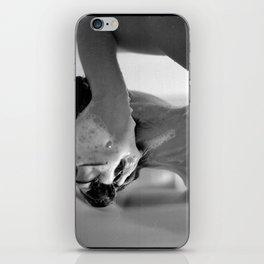 Woman Showering, 35mm Film, B&W iPhone Skin