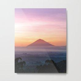 pink volcano Metal Print