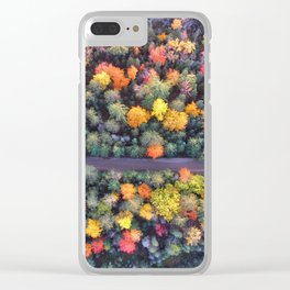 Trees by Aaron Burden Clear iPhone Case