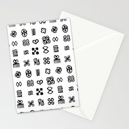 Adinkra Symbols Of West Africa Stationery Cards