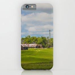 Jumbled Abandoned Farm, Burleigh County, North Dakota 2 iPhone Case