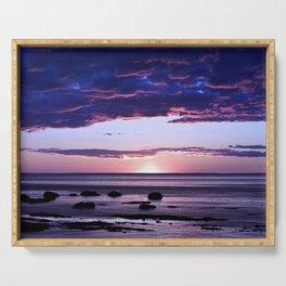 Coastal Sunset Sainte-Anne-Des-Monts Serving Tray