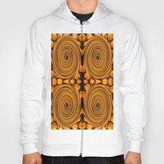 Orange fruit twirl Hoody
