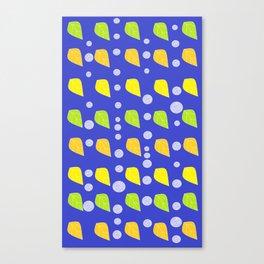 circle leaves Canvas Print