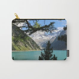 glacier and blue lake Carry-All Pouch