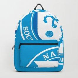 Naples Horse Football badge Backpack