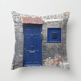 Westminster door 1 Throw Pillow