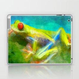 La grenouille Laptop & iPad Skin