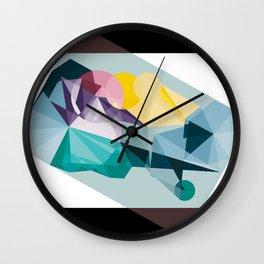 Kandy land Wall Clock