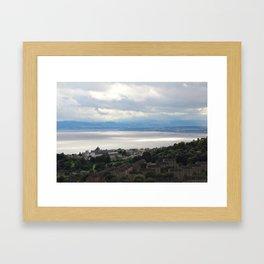 Sun on the Water Framed Art Print