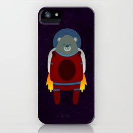 Major Ursa from Ursa Minor: Bear in Space iPhone Case