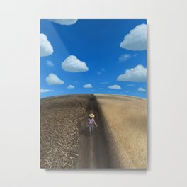 Sow and Reap Metal Print