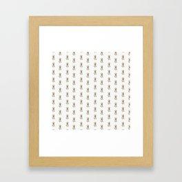 Dottie Unleashed! Framed Art Print