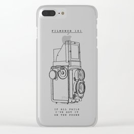filmsnob 101 Clear iPhone Case