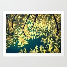 Sunday Sun Art Print