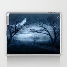 A Dark & Foggy Night Laptop & iPad Skin