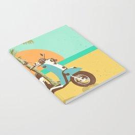 SCOOTER TROPICS Notebook
