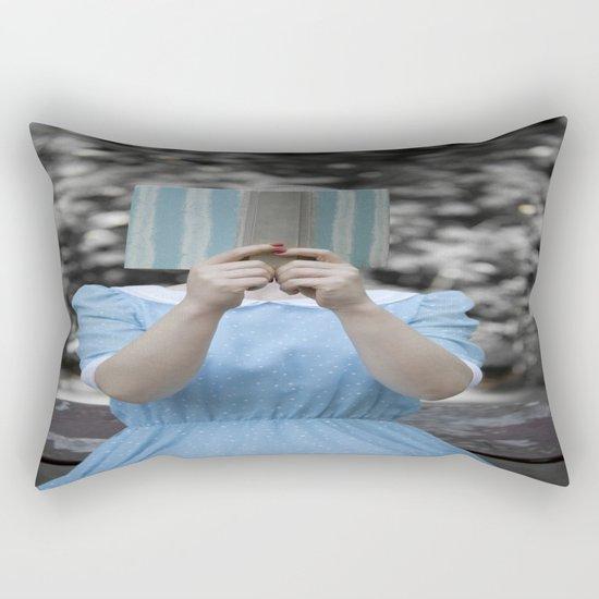 Reading Rectangular Pillow