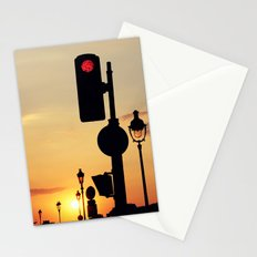 Stop and look at the sunset Stationery Cards