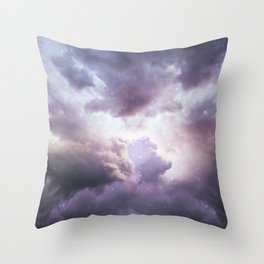 The Skies Are Painted II Throw Pillow