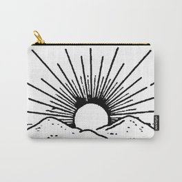 Black rising sun Carry-All Pouch