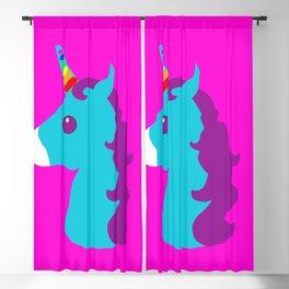 Portrait  of a Unicorn Blackout Curtain