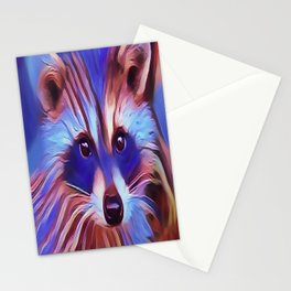 The Raccoon Bandit Stationery Cards