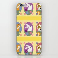 woodland iPhone & iPod Skins featuring Woodland by LeaLea Rose
