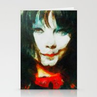 bjork Stationery Cards featuring BJork by avida