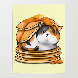Kitty Pancakes Poster
