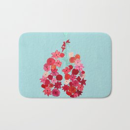 Simply Breathe - Lungs For Whitney Bath Mat