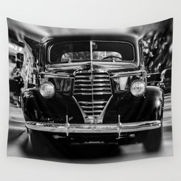 American Classic Car Wall Tapestry