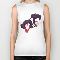 lovers Biker Tanks featuring Lovers by Ralph Moreau