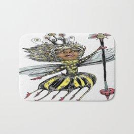 Queen Bee of Color Bath Mat