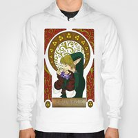 courage Hoodies featuring COURAGE by BlackTaintedHeart