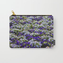 Pansies Bring Color To The Garden Carry-All Pouch