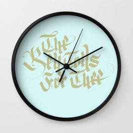 The Bell Tolls for Thee Wall Clock