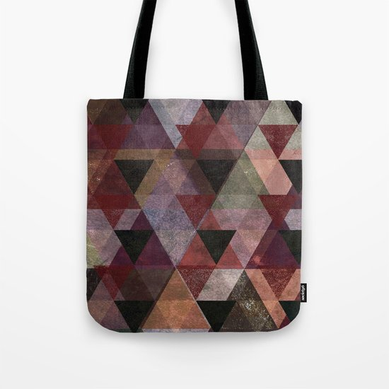 Abstract #482 Triangle Collage Tote Bag