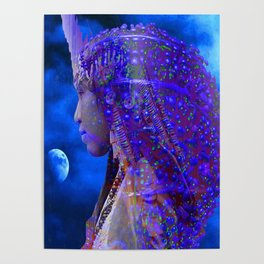 Moon Shadow Poster