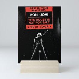 bon jovi uk tour 2019 2020 mentah Mini Art Print