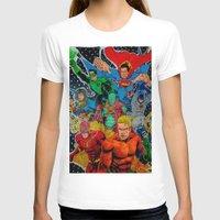 superheros T-shirts featuring Heroes Unite by JayKay