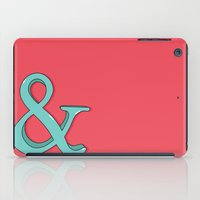 ampersand iPad Cases featuring Ampersand by Chelsea Herrick