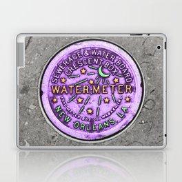 New Orleans Mardi Gras NOLA Water Meter Laptop & iPad Skin