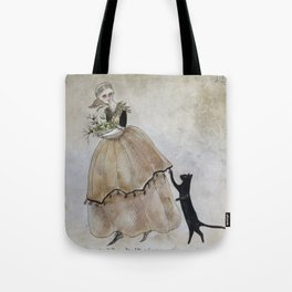Winter Readying Tote Bag