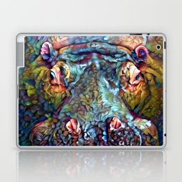 Whimsical Hippo Laptop & iPad Skin