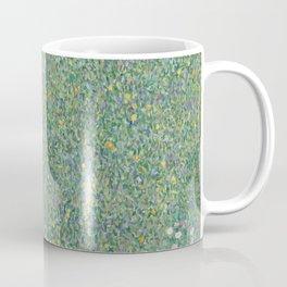Gustav Klimt - Rosebushes Under the Trees Coffee Mug
