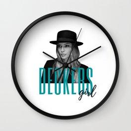 Deckers Girl Wall Clock