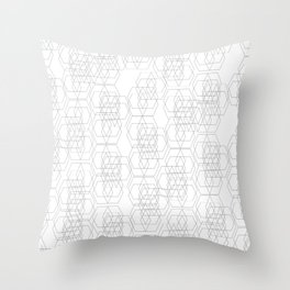 Geometry Layered Throw Pillow